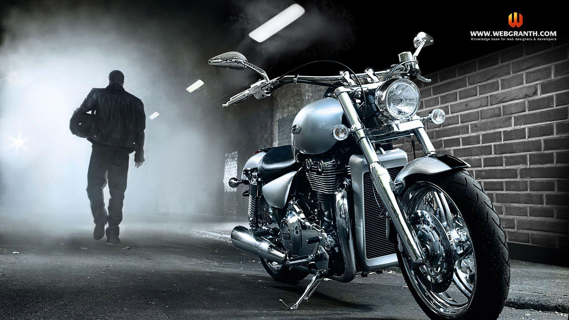 Luxury Motorcycle Hd Wallpapers: Biker Wallpapers