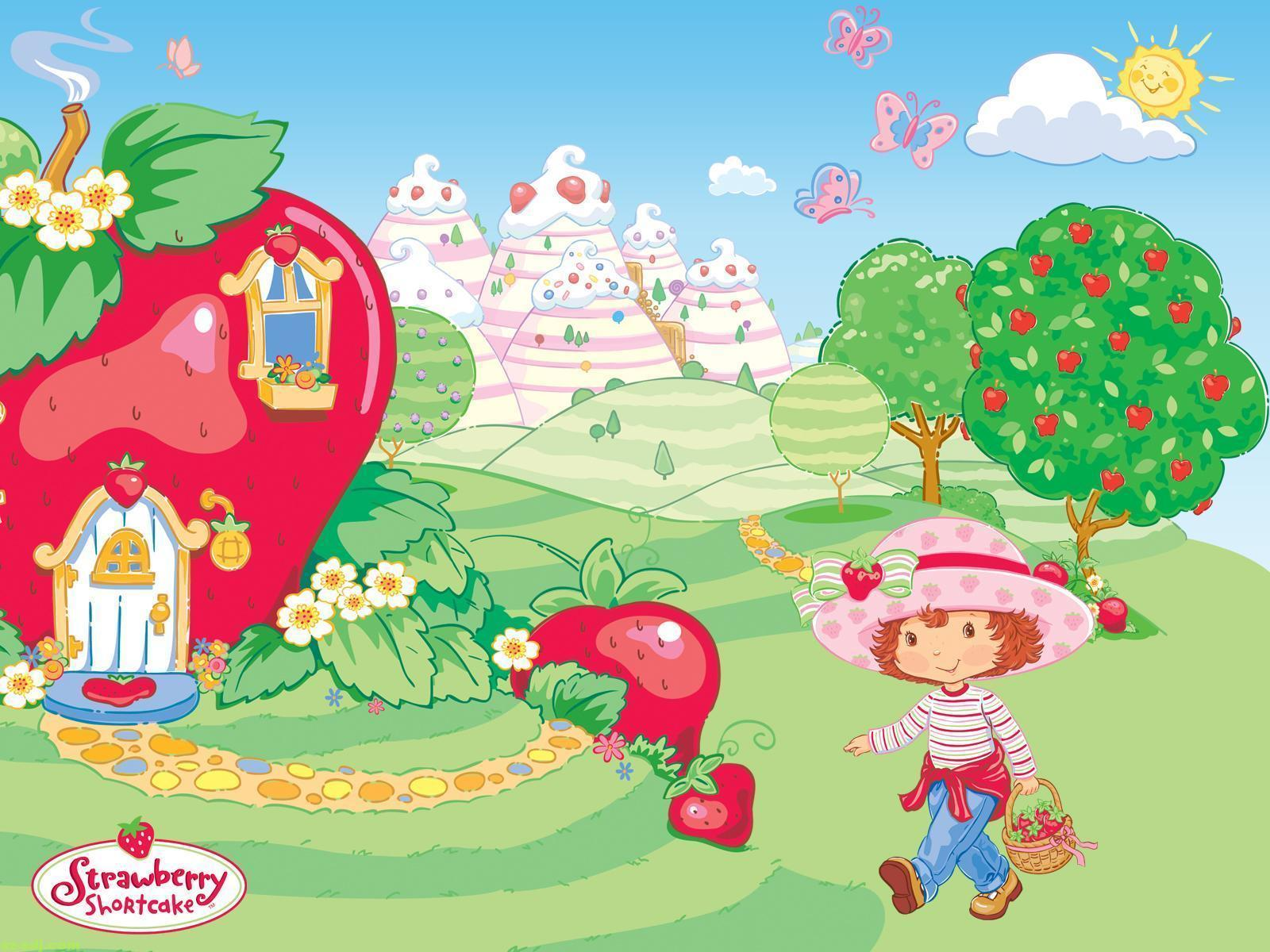 Strawberry Shortcake Wallpapers For Android