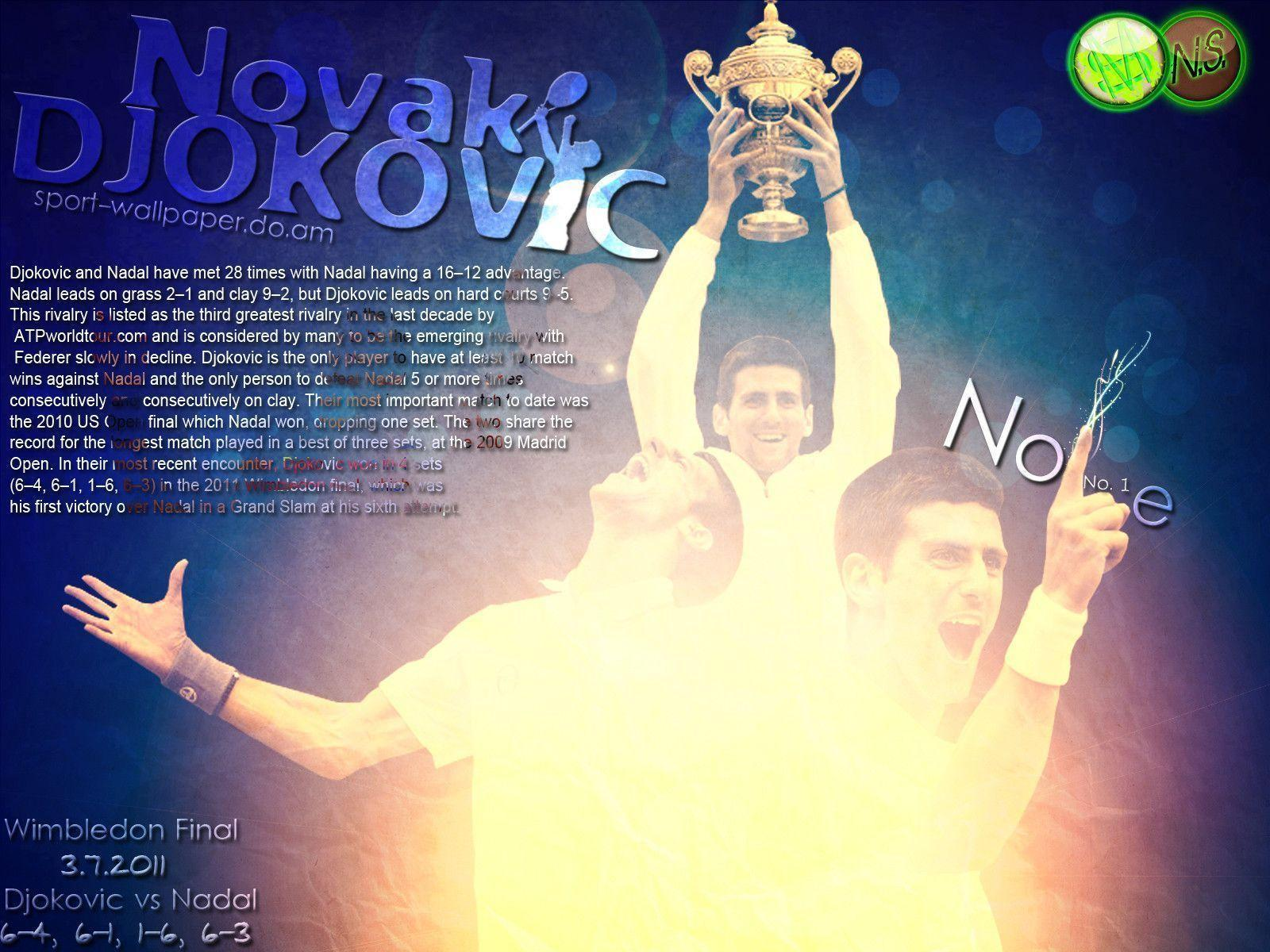Novak Djokovic Wallpaper By WWW.SPORT-WALLPAPER.DO.AM 60102 ...