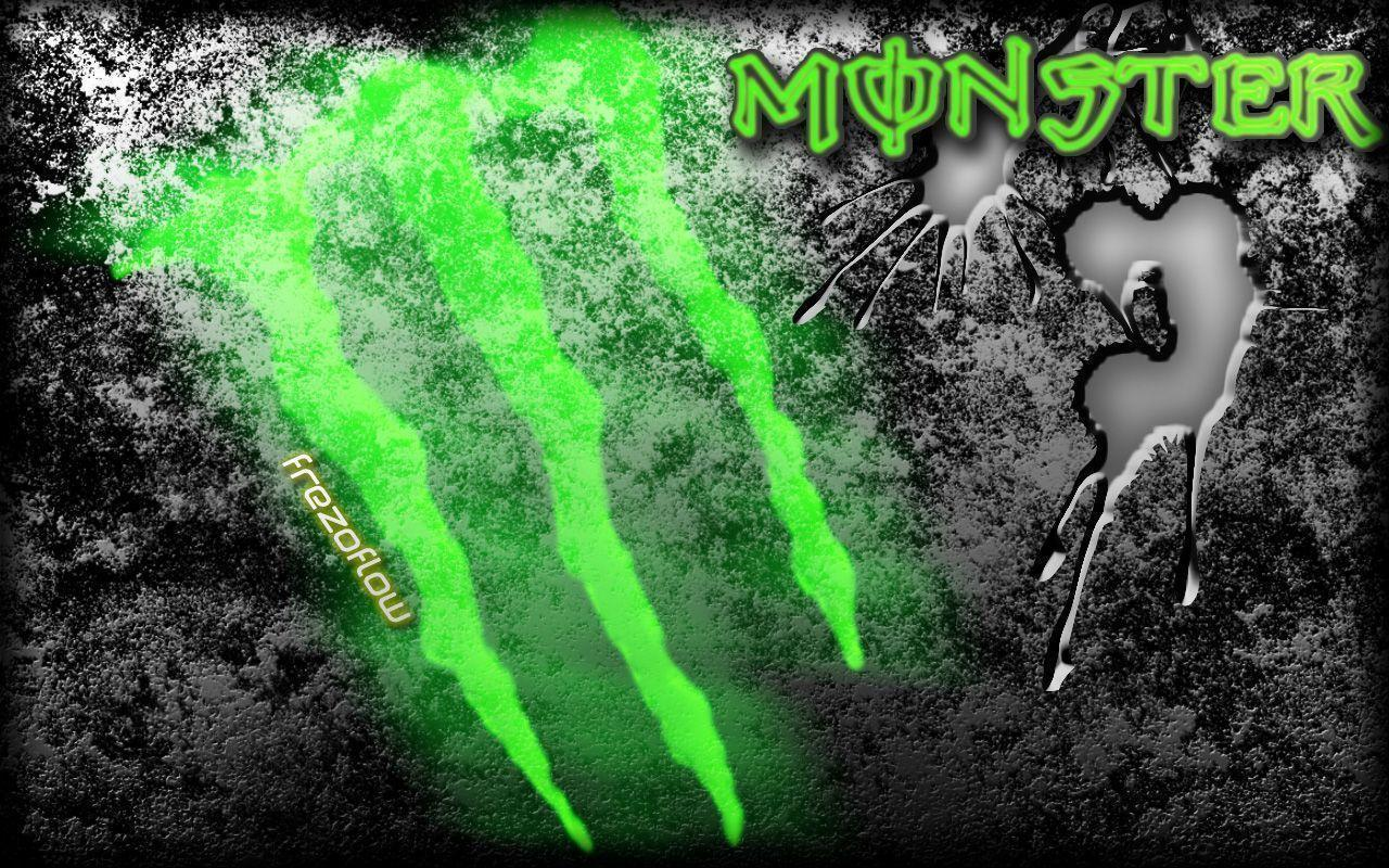 Wallpapers For > Monster Energy Logo Wallpaper