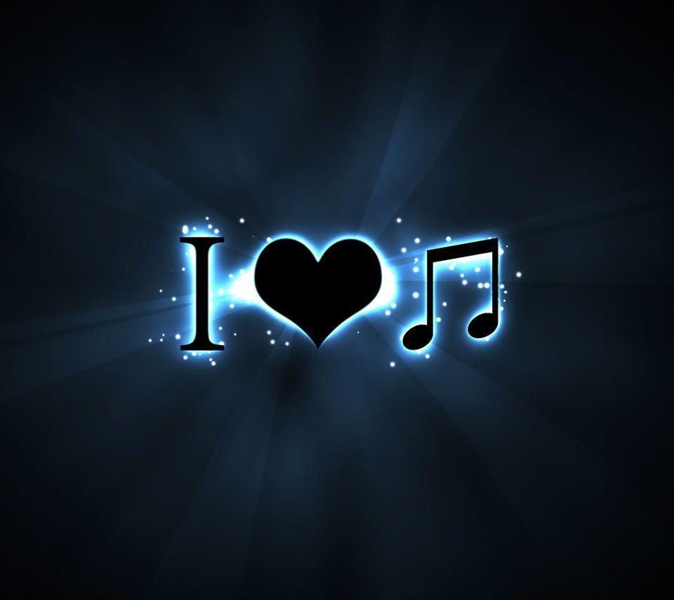 Wallpapers For > Music Note Wallpapers Black