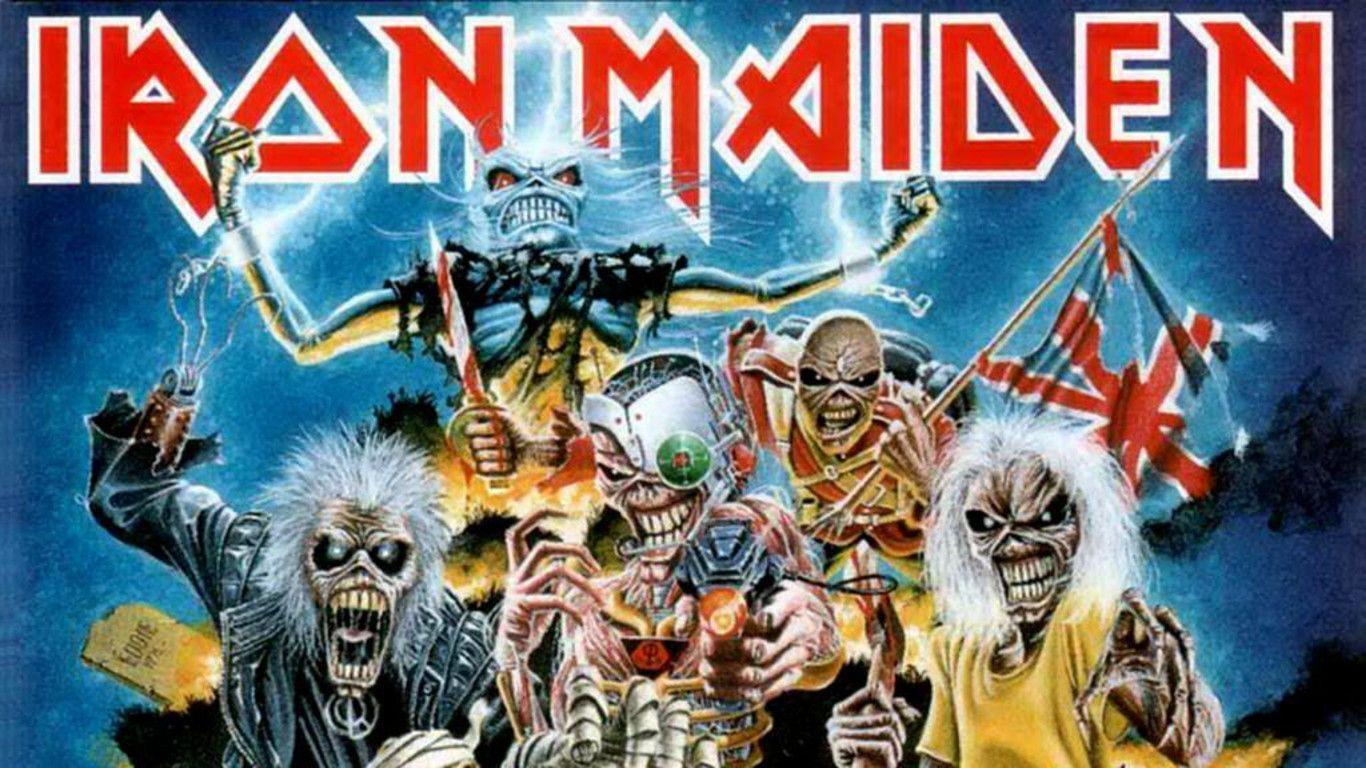 iron maiden backgrounds wallpaper cave