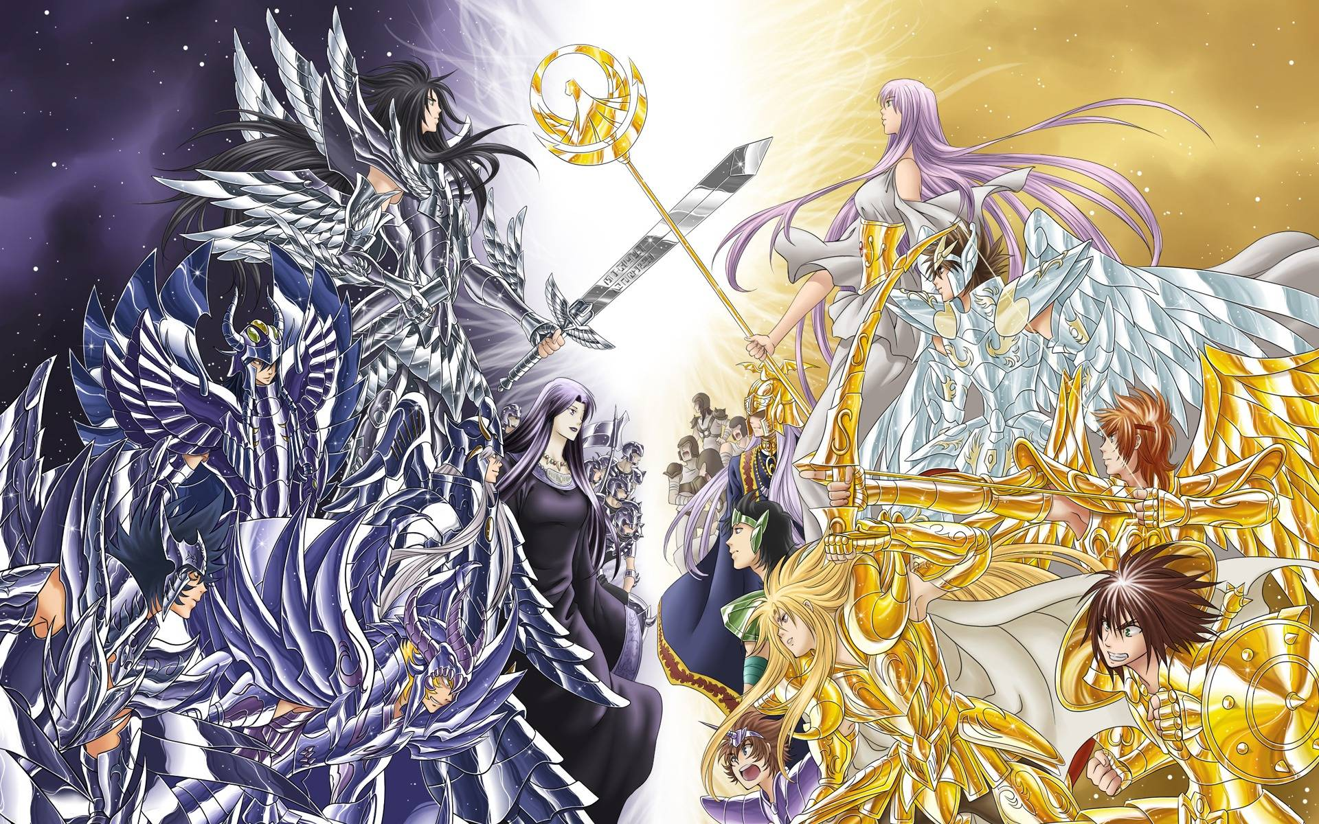 Most Downloaded Saint Seiya Wallpapers