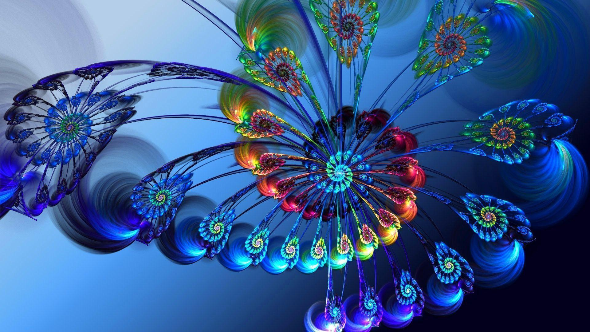 Images For Beautiful Peacock Feather Hd Wallpapers