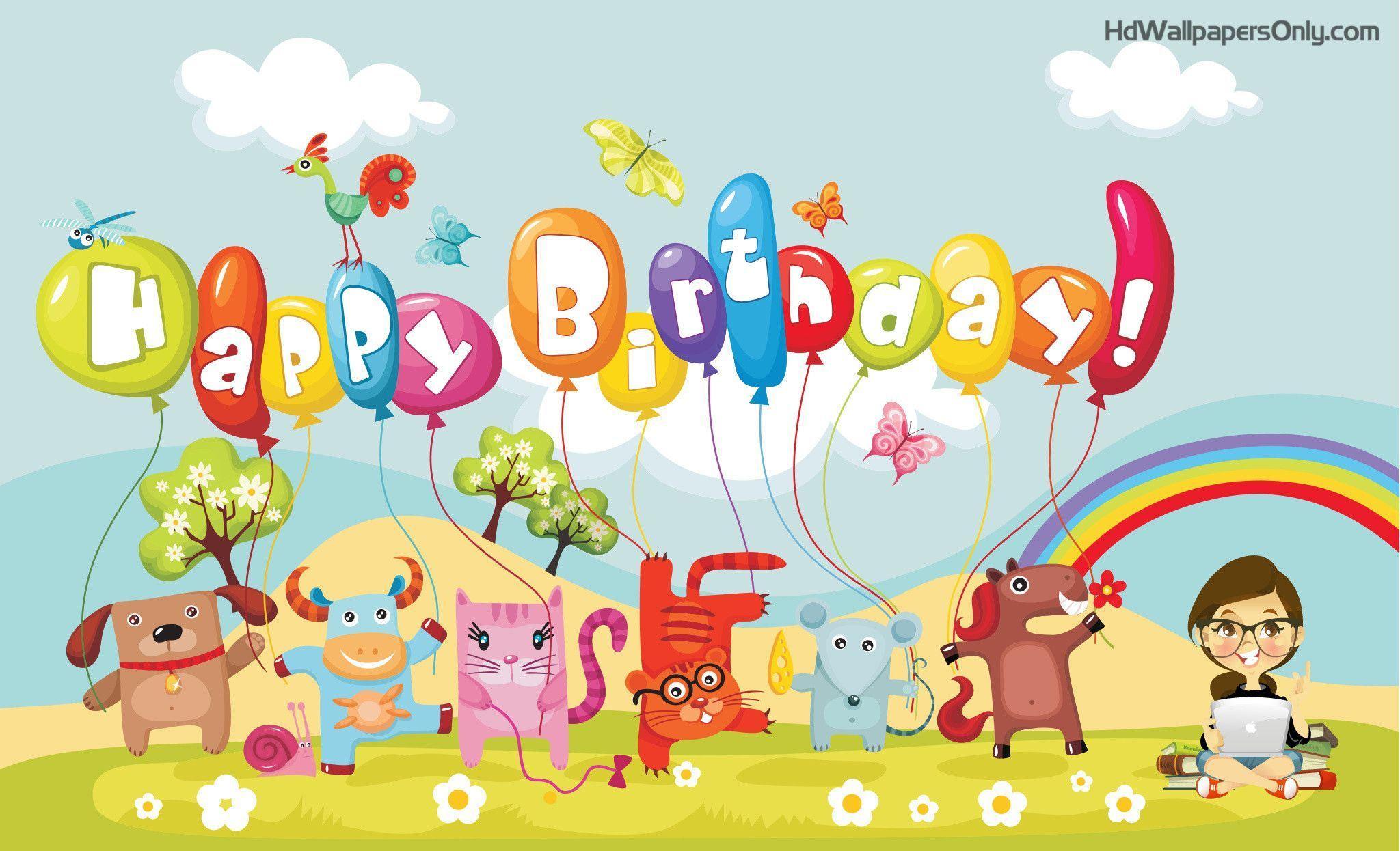 Happy Birthday Wallpaper High Resolution