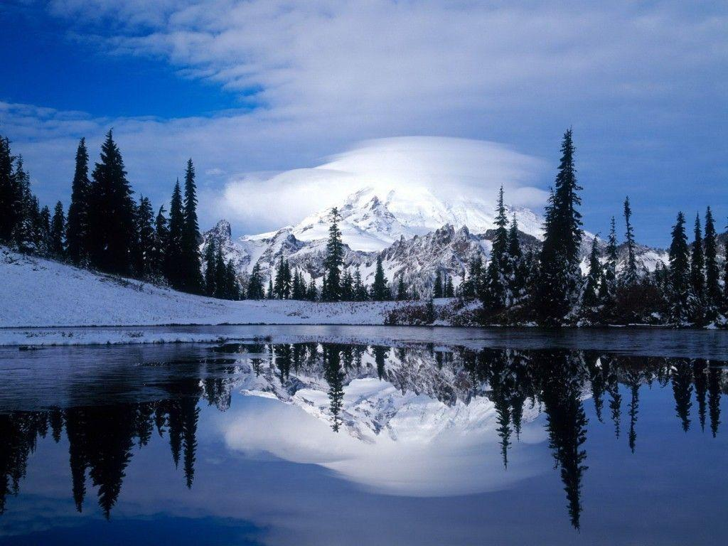 Image For > Snow Mountain Wallpapers