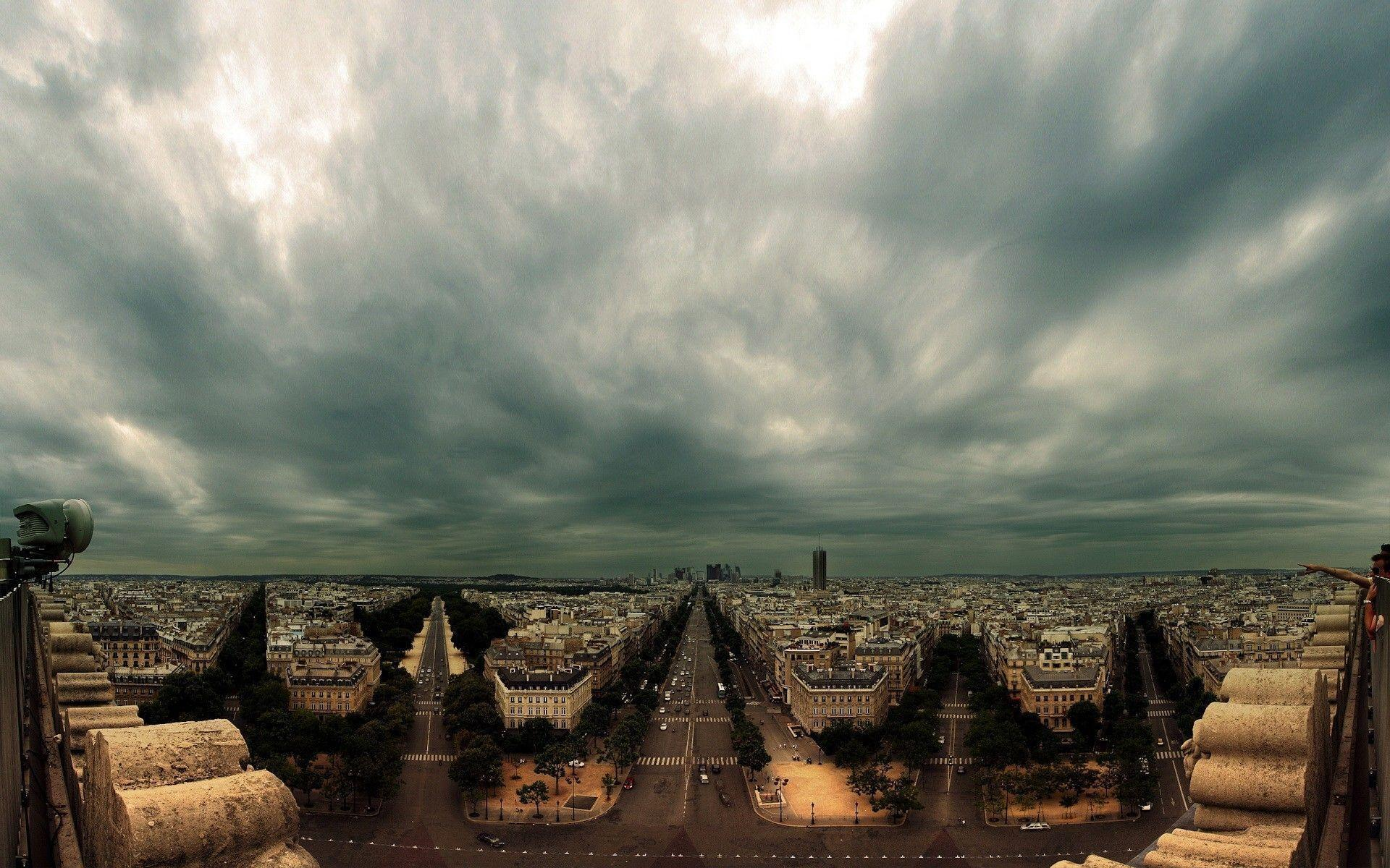 Champs Elysees Paris Desktop Wallpapers