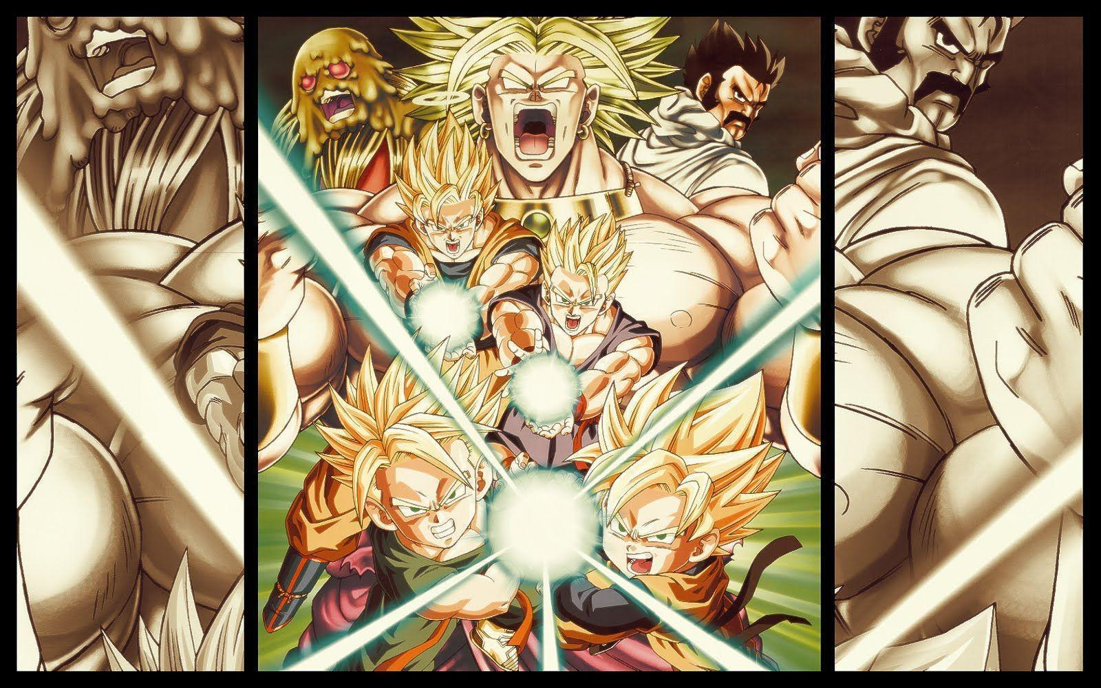 Dragon Ball Z Desktop Backgrounds