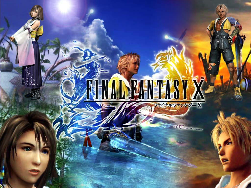 Yuna Tidus images theit love wallpaper and background photos