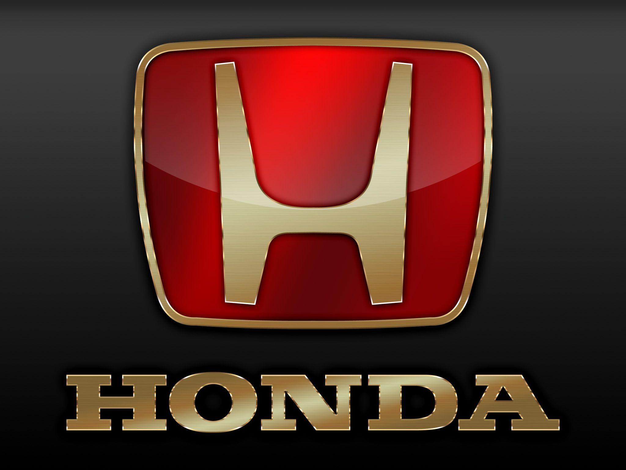 Honda Emblem Wallpaper Desktop Black