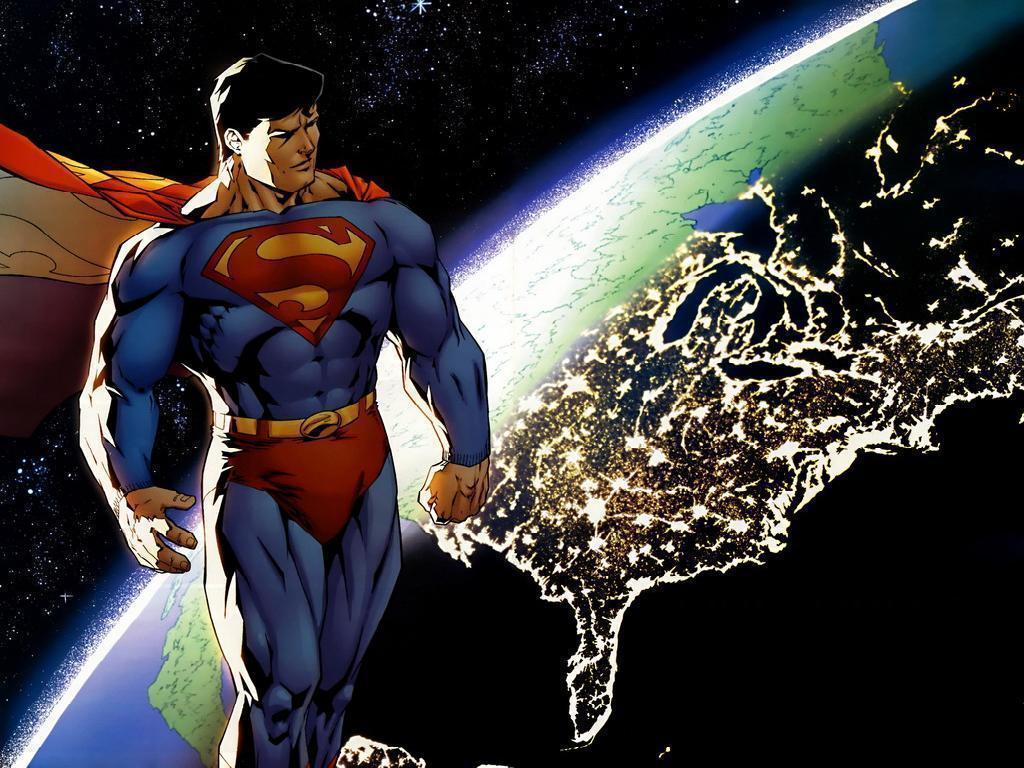 superman comic art wallpaper - photo #3