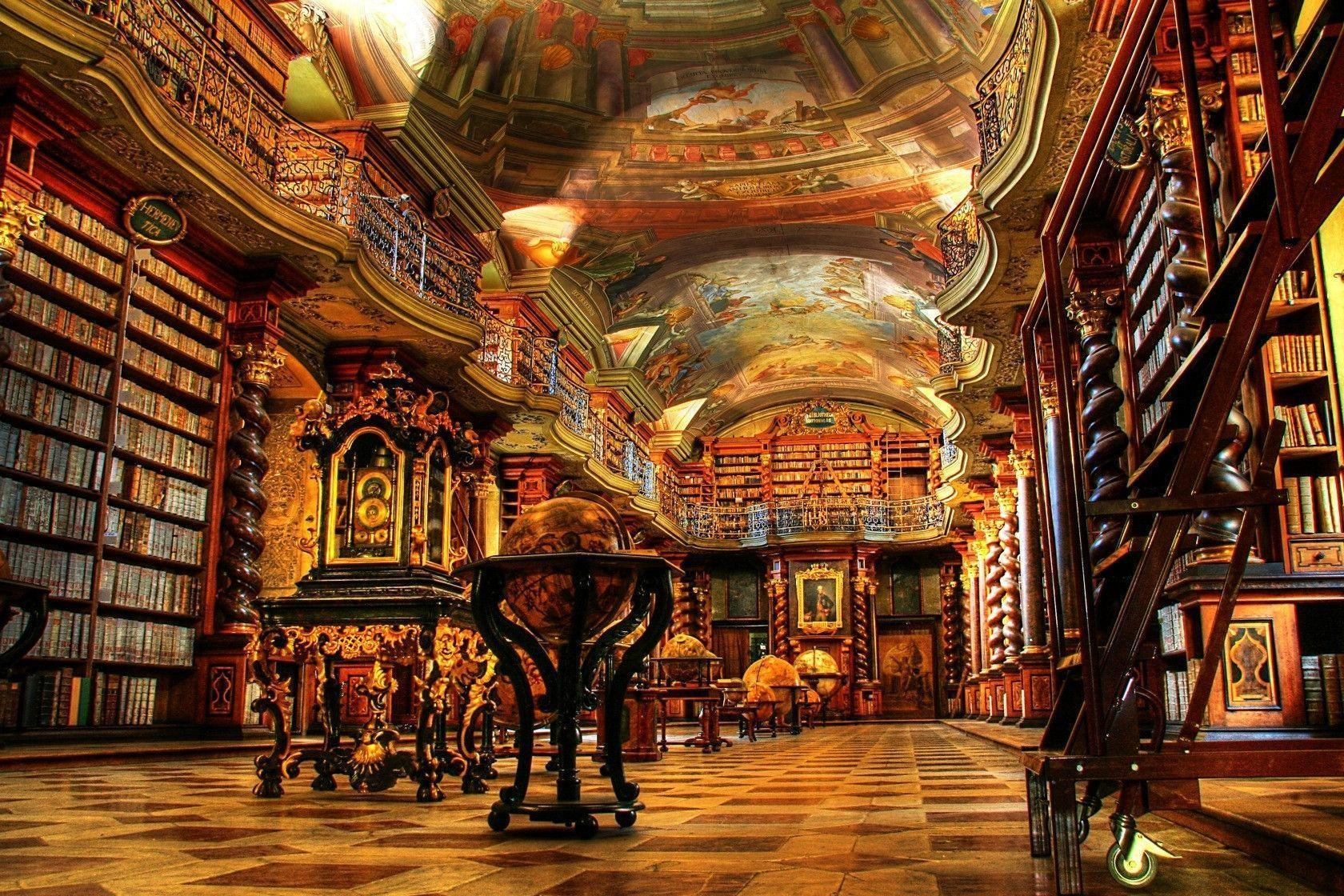 Library Background Images Wallpaper