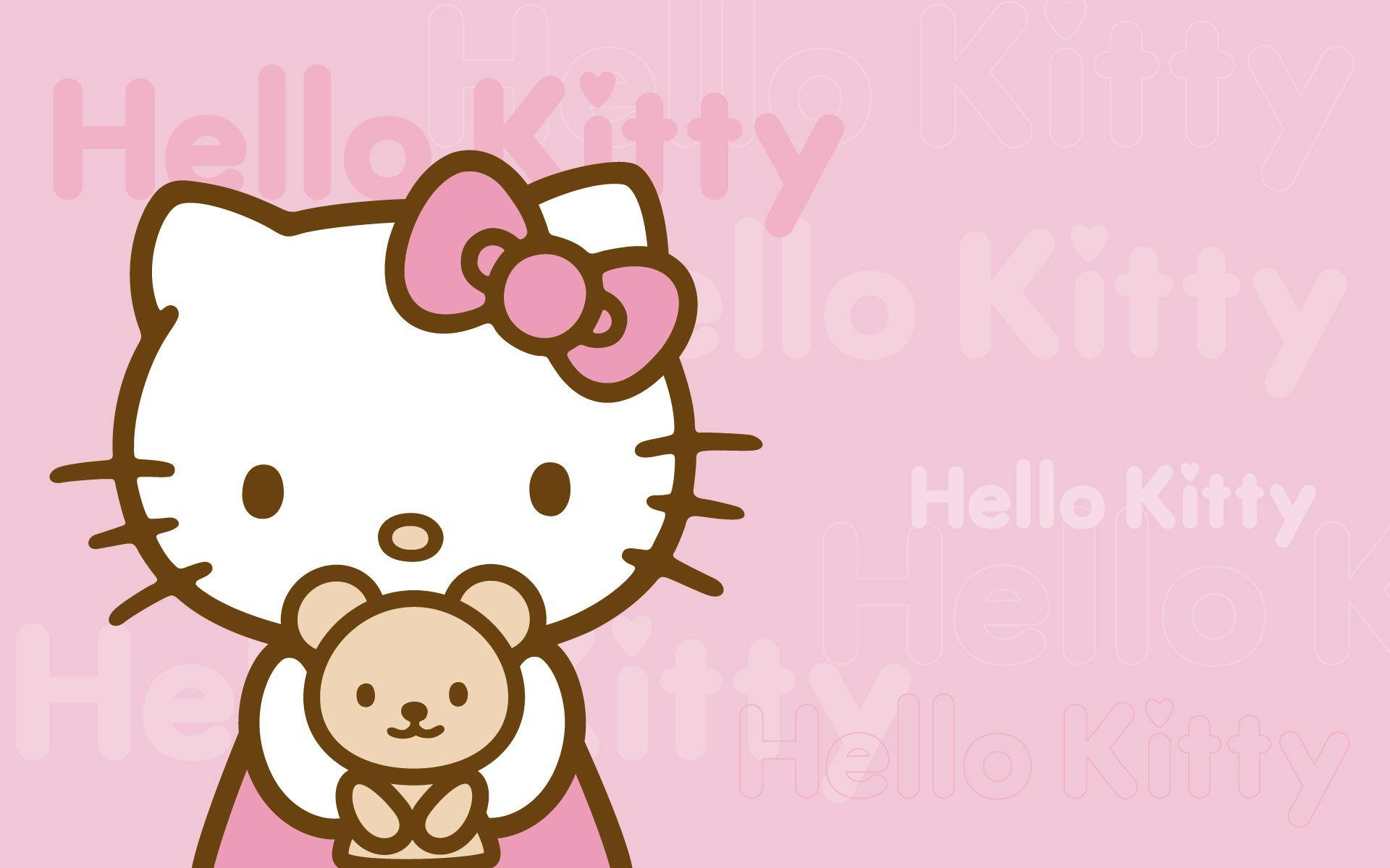 Hello Kitty Backgrounds For Computers Hello Kitty Desktop Ba...