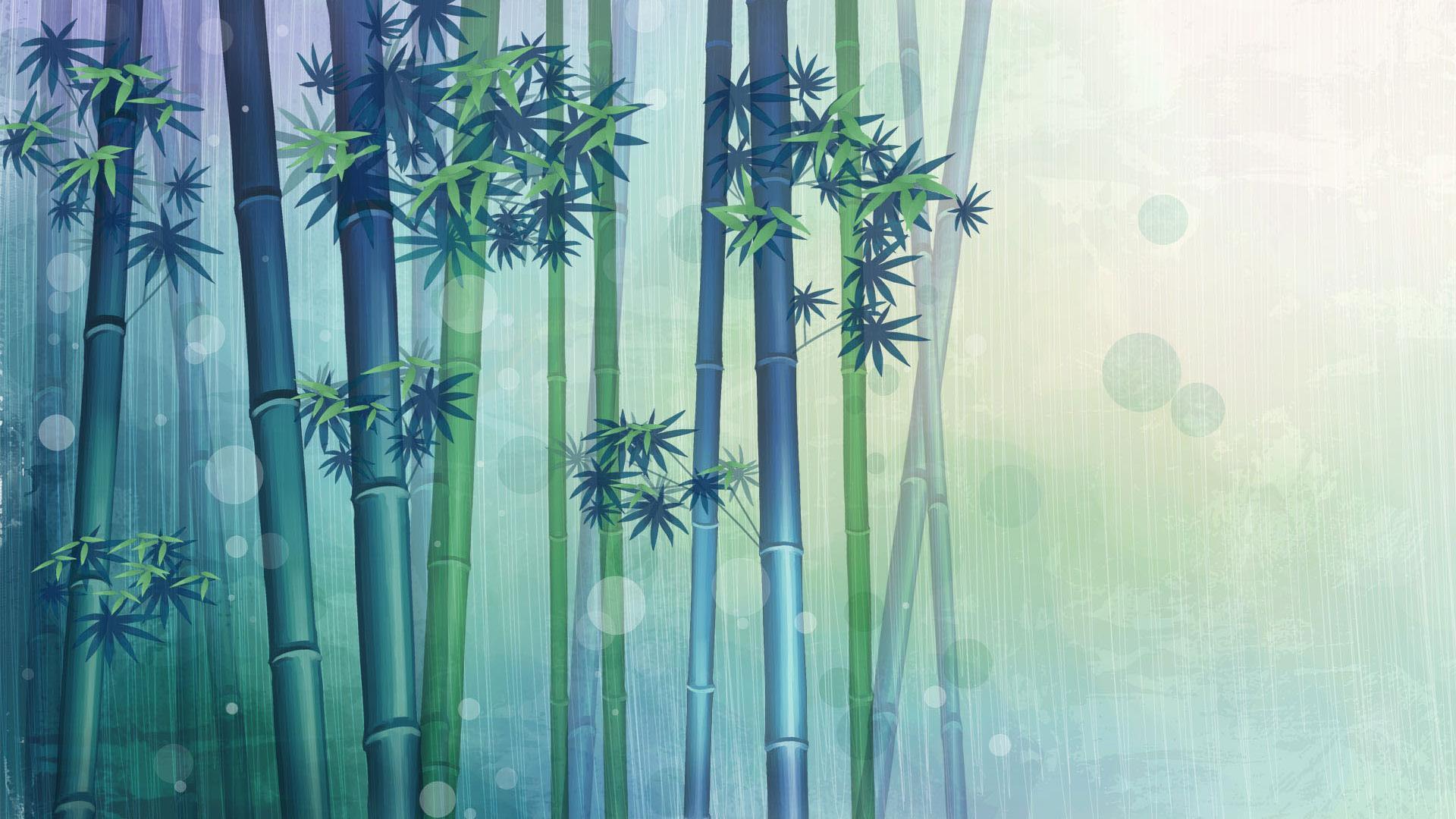 Bamboo desktop wallpapers wallpaper cave for Bamboo mural walls