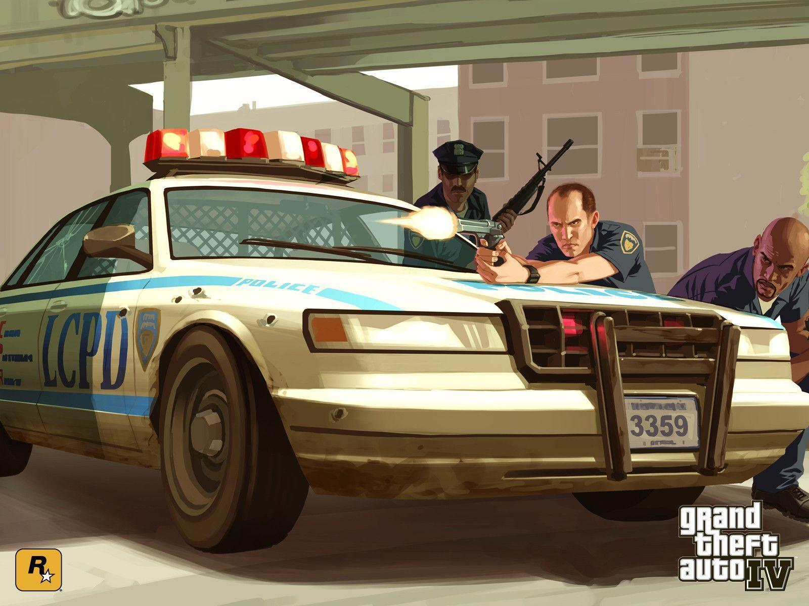 GTA 4 / Grand Theft Auto IV - Official IV Wallpapers - on GTA.