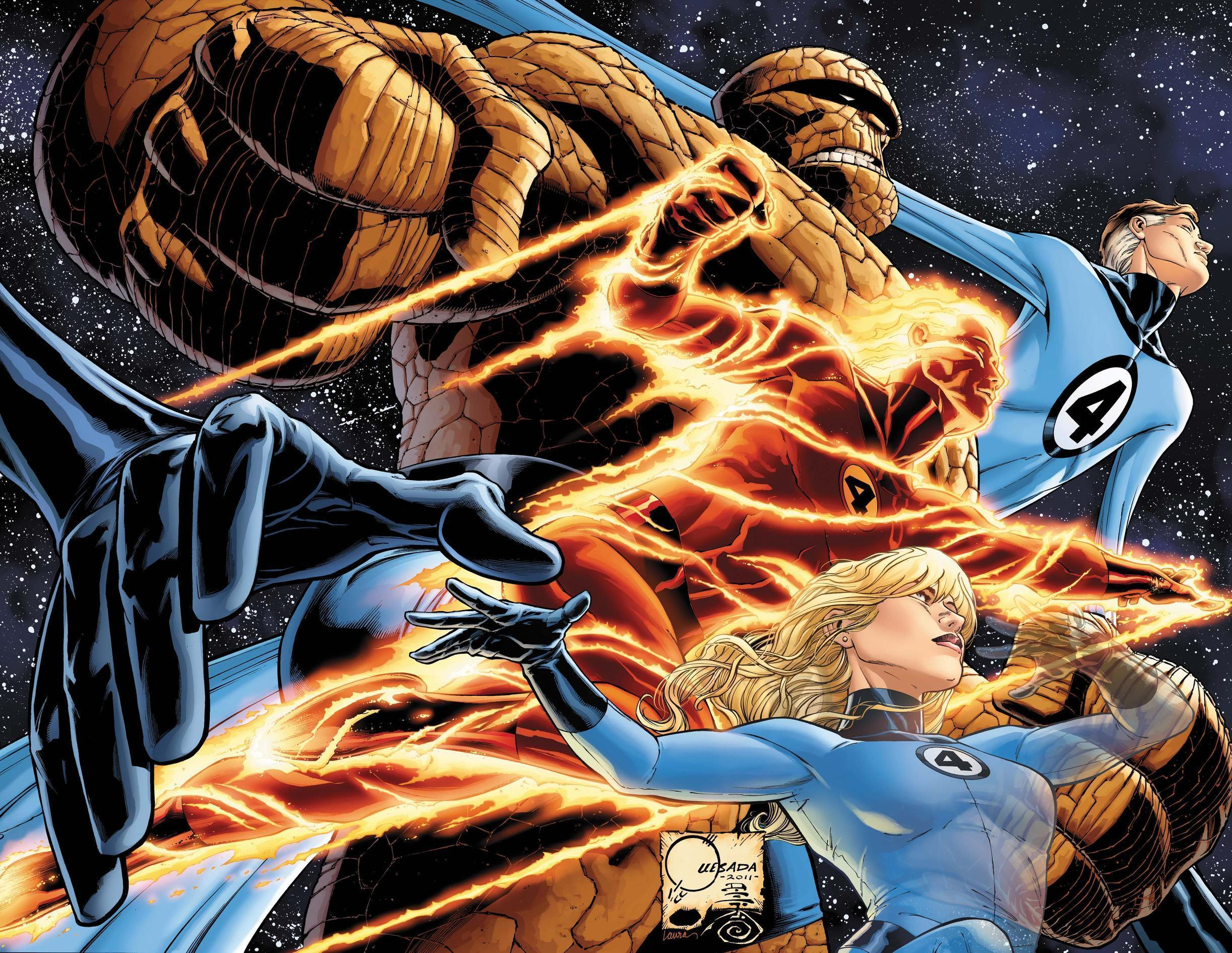 fantastic four wallpapers wallpaper cave