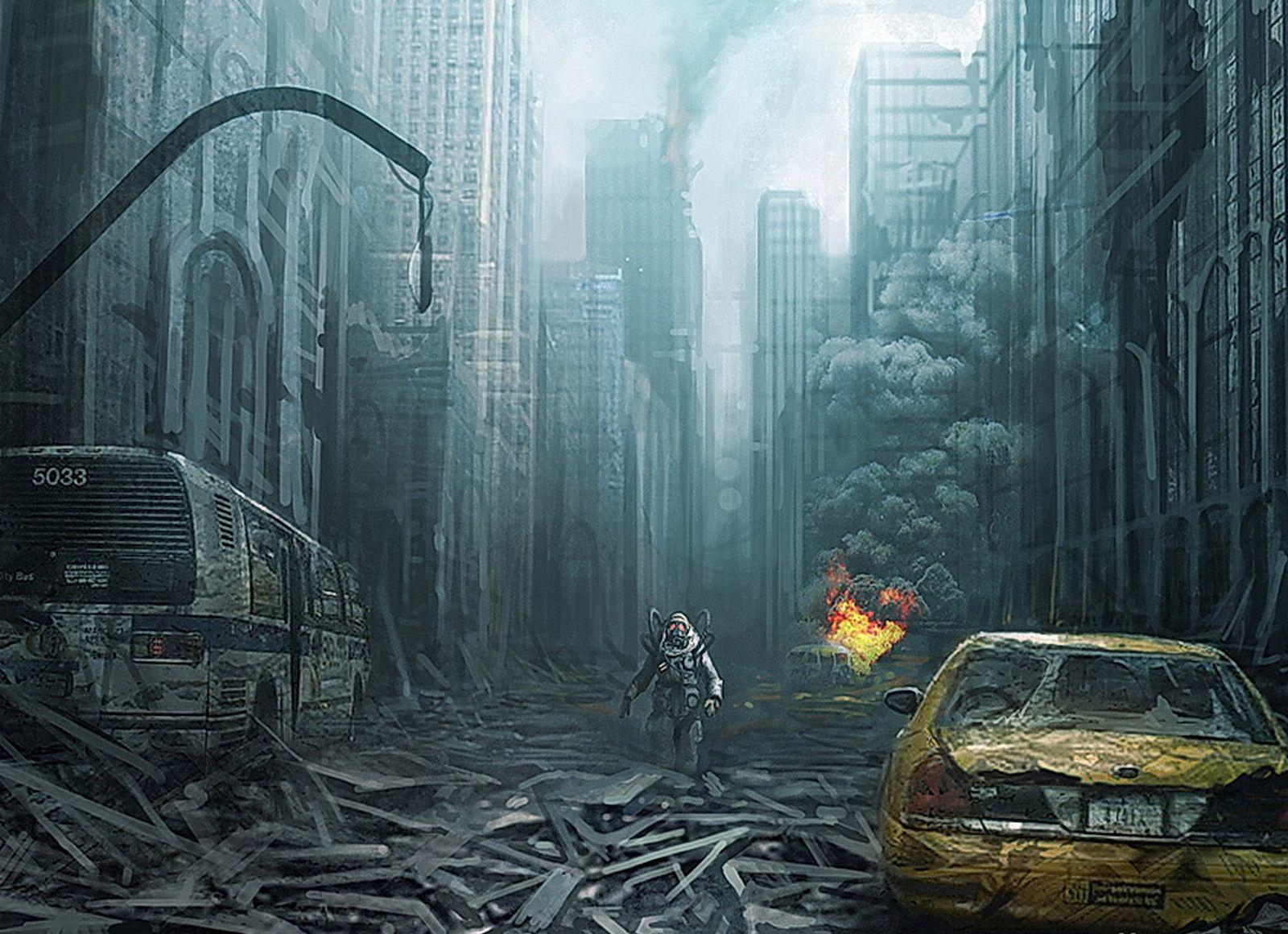 fire apocalypse background - photo #12