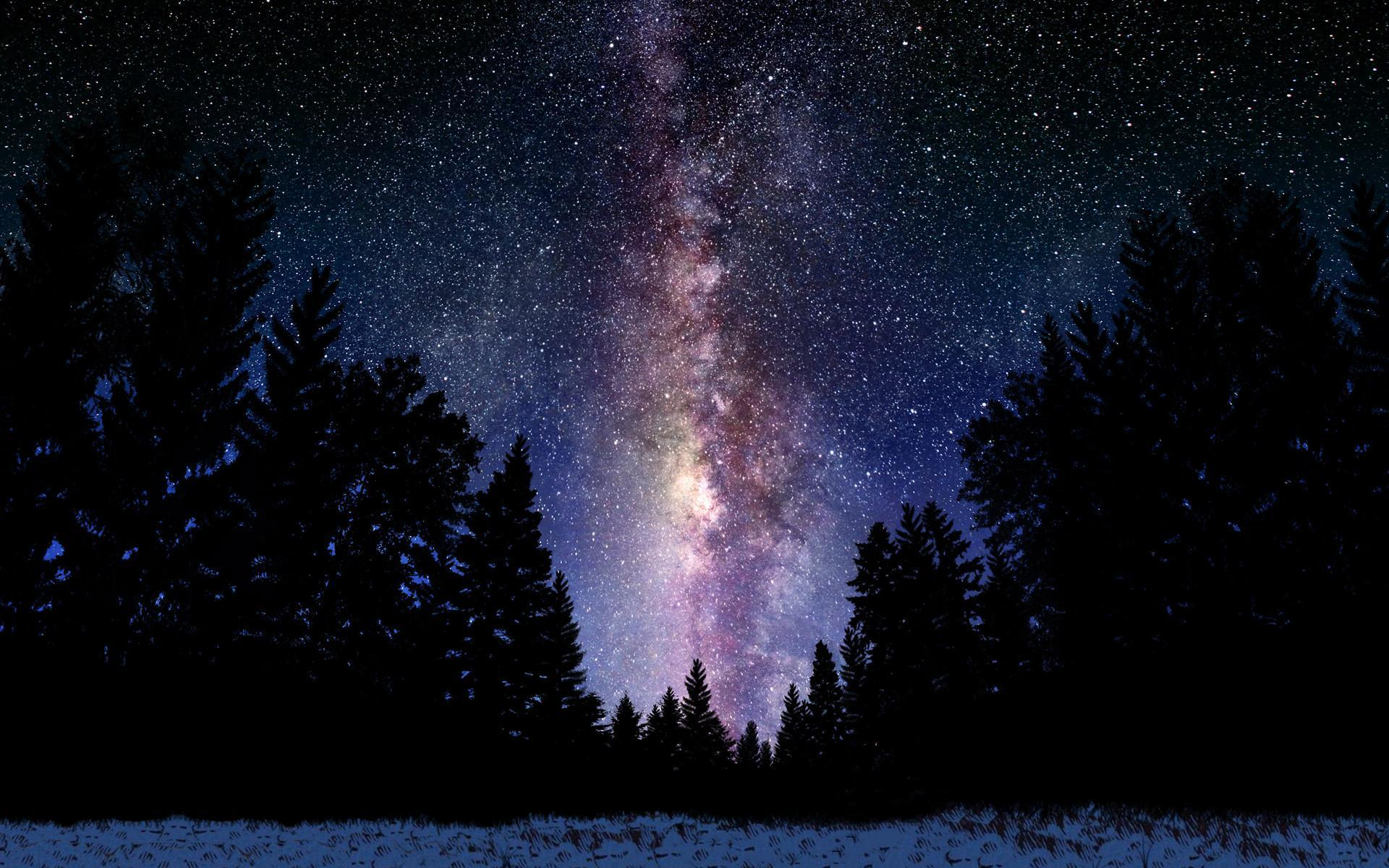 Milky Way Photos Hd Widescreen 2 HD Wallpapers