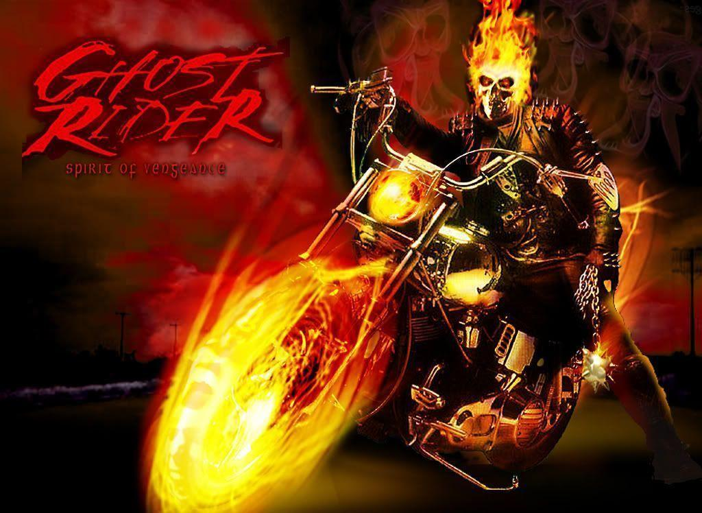Ghost Rider Wallpaper Bike