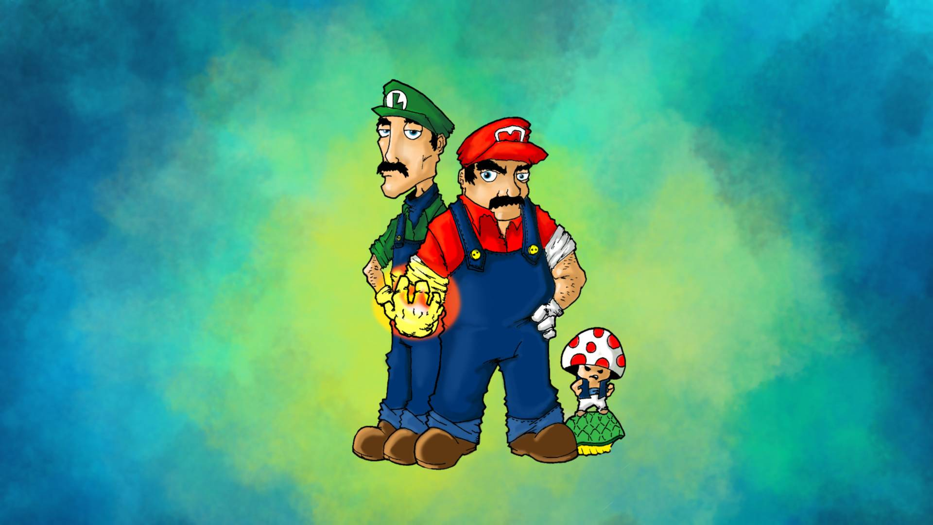 Mario And Luigi Wallpapers Wallpaper Cave
