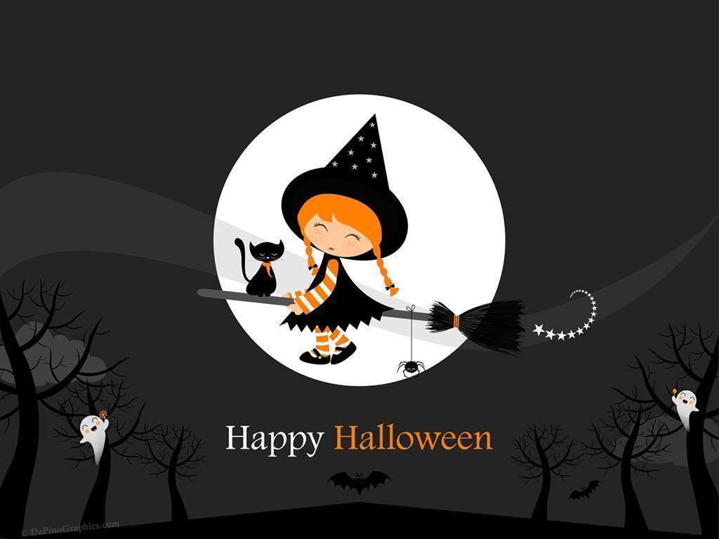 Cute halloween desktop backgrounds wallpaper cave - Funny happy halloween wallpaper ...