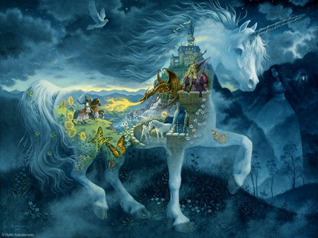 Free unicorn wallpapers wallpaper cave for 3d wallpaper for dream home