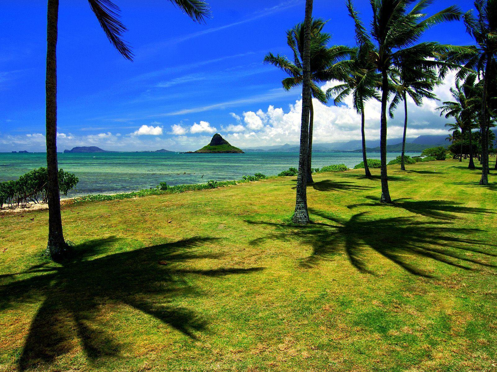 Chinamans Hat Oahu Hawaii free desktop backgrounds