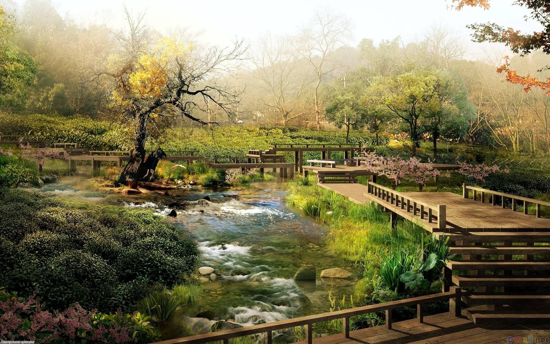 Japanese Garden - Nature Wallpapers