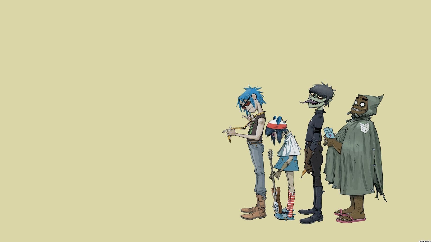 download wallpaper gorillaz desktop -#main