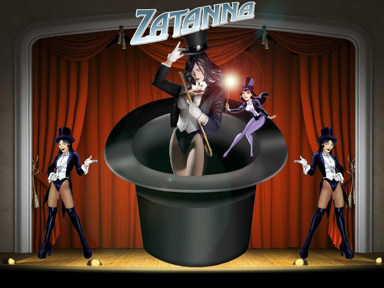 Pix For > Zatanna Wallpapers