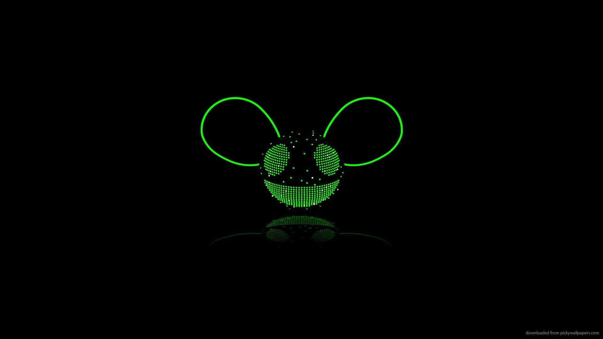 Download 1920x1080 Deadmau5 Green Wallpapers