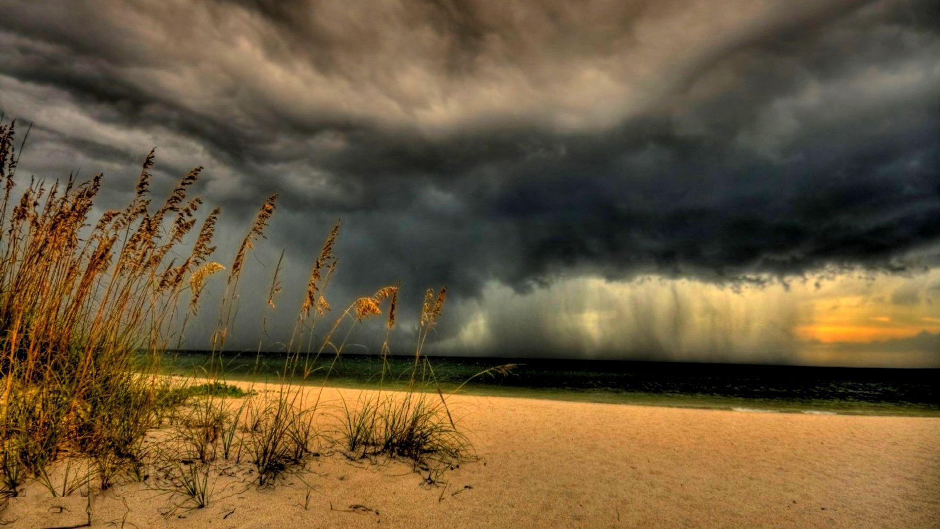 Beach Thunderstorm Wallpaper: Thunderstorm Backgrounds