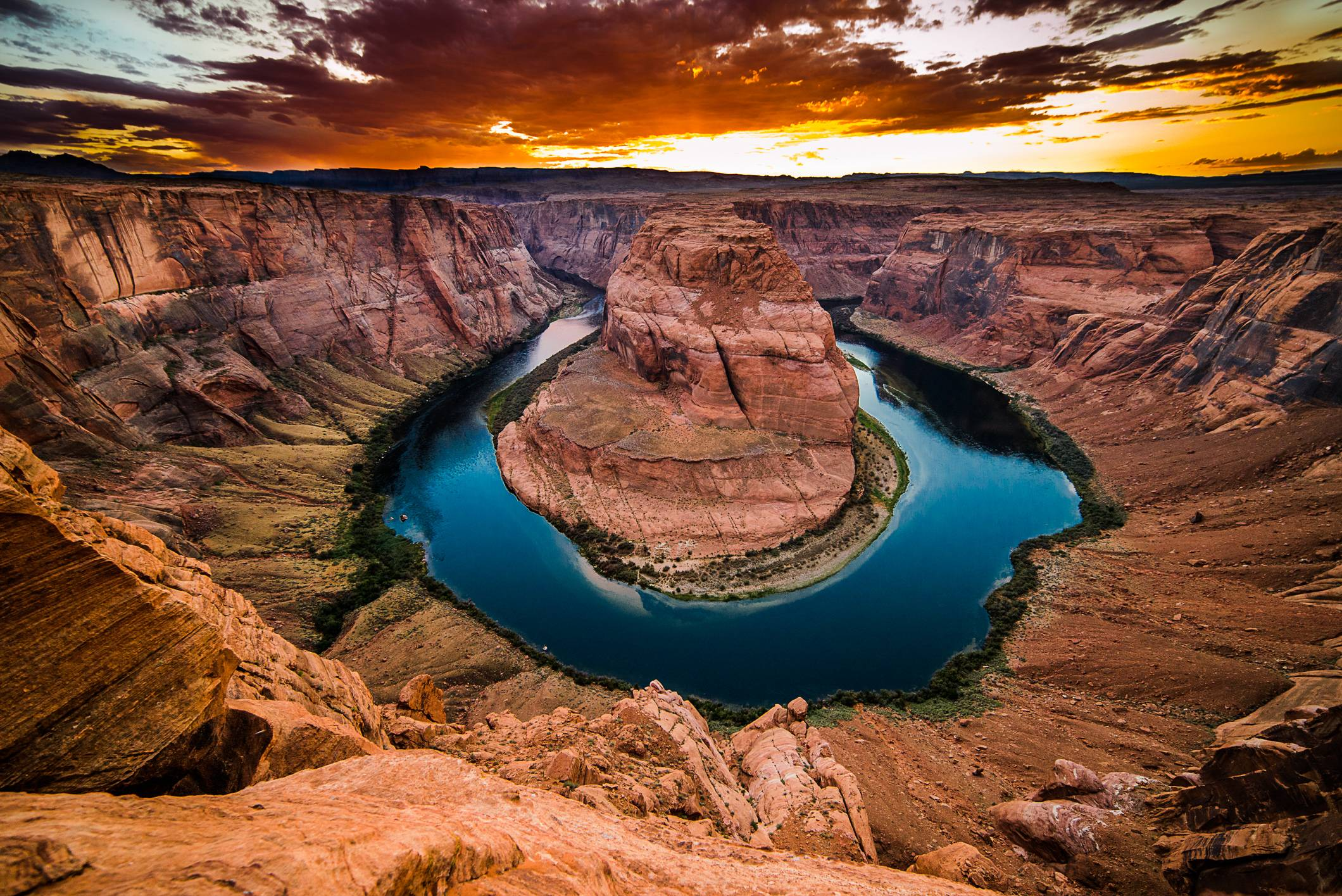 Horseshoe bend hd - photo#3