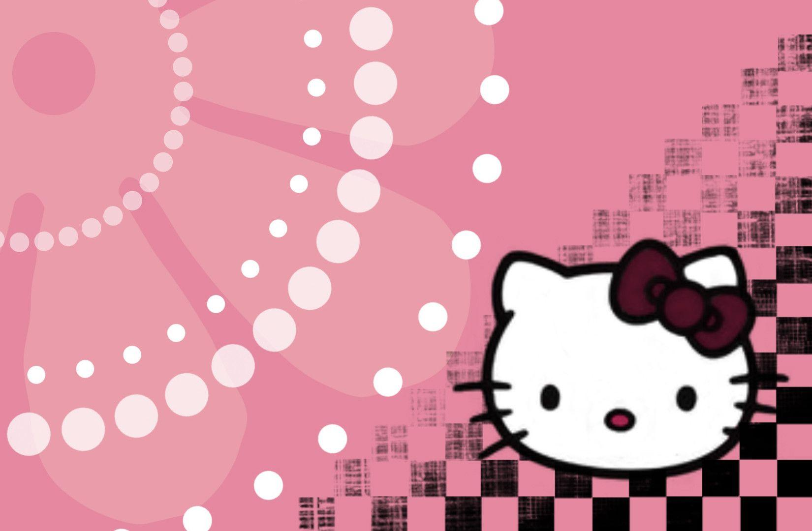 Hello Kitty Wallpapers Black - Wallpaper Cave