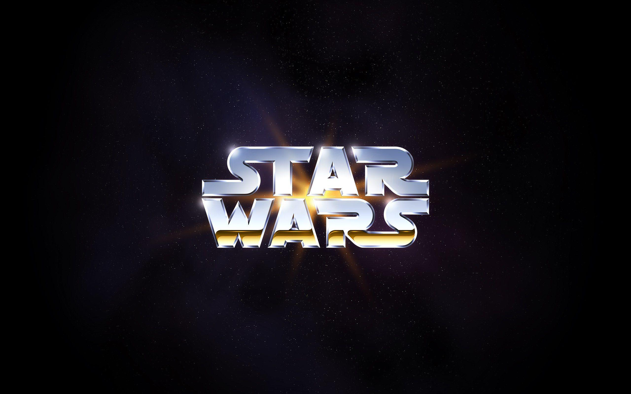 star wars logo wallpapers wallpaper cave
