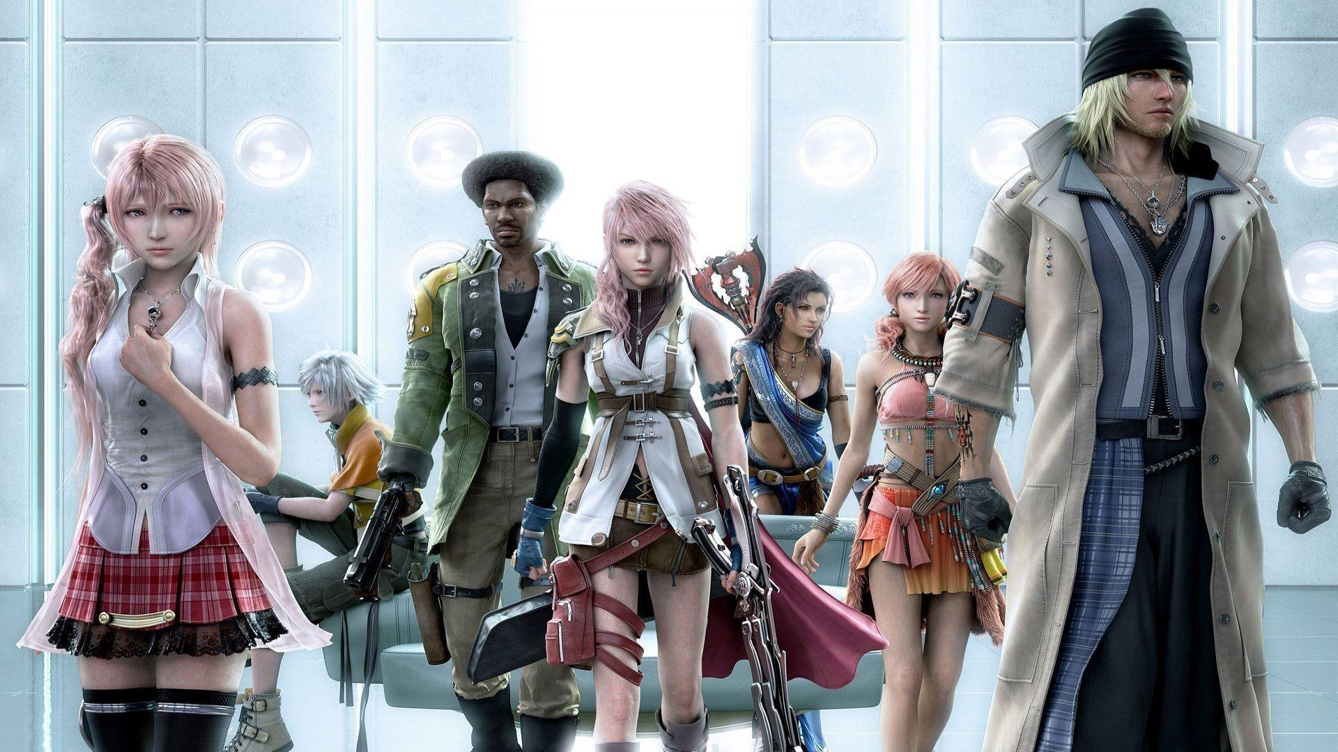 FFXIII Characters - Characters & Art - Final Fantasy XIII
