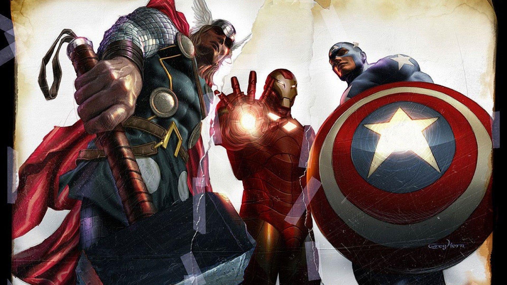 Avengers Pinterest: Avengers Comic Wallpapers