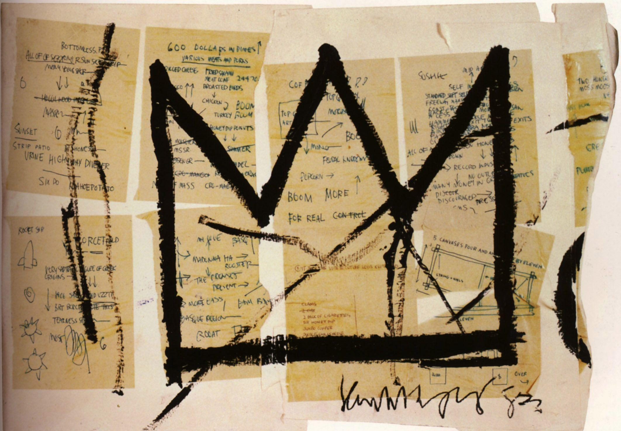 Crown - Jean-Michel Basquiat - WikiArt.