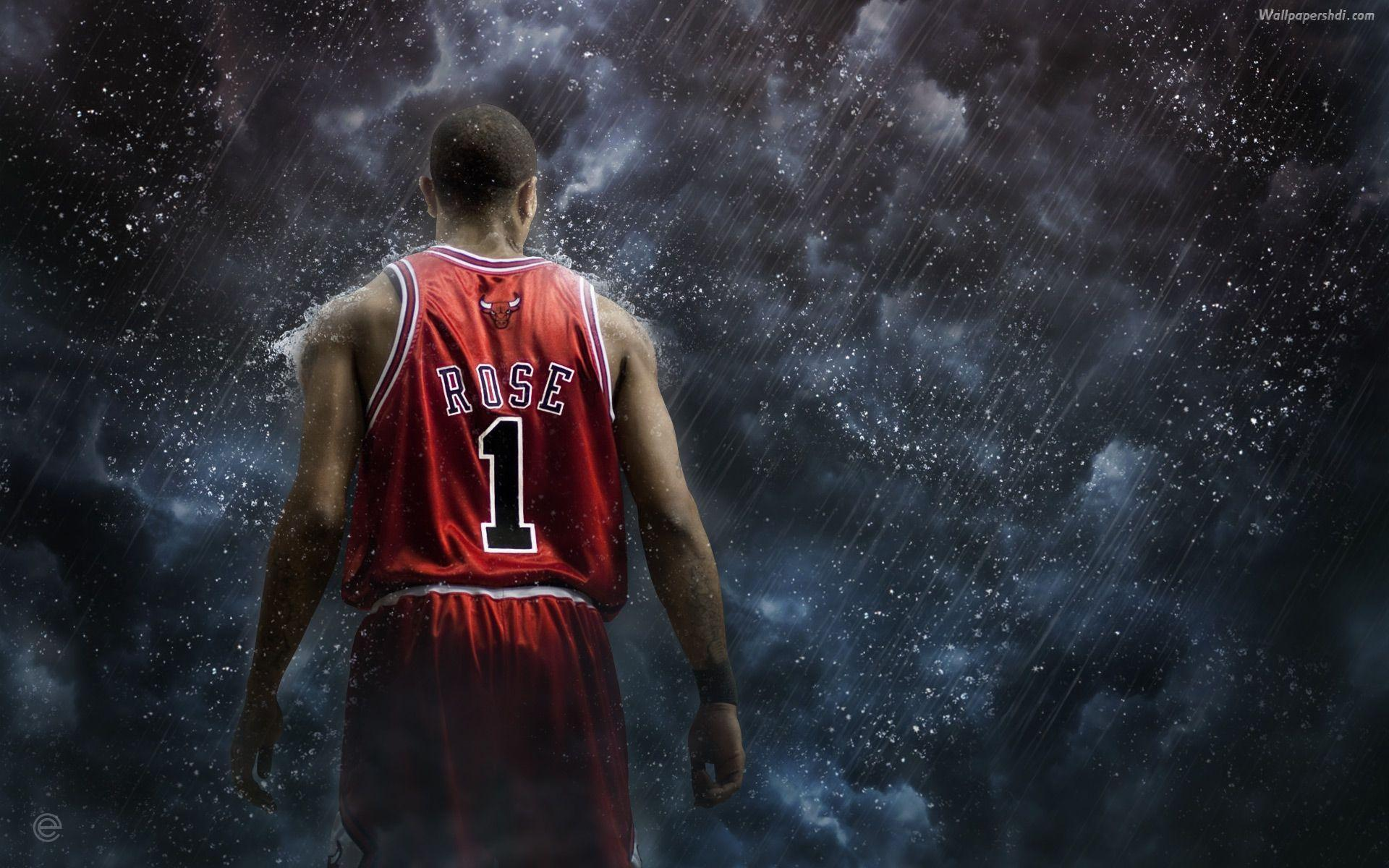Derrick rose wallpapers 2015 hd wallpaper cave for D wall wallpaper