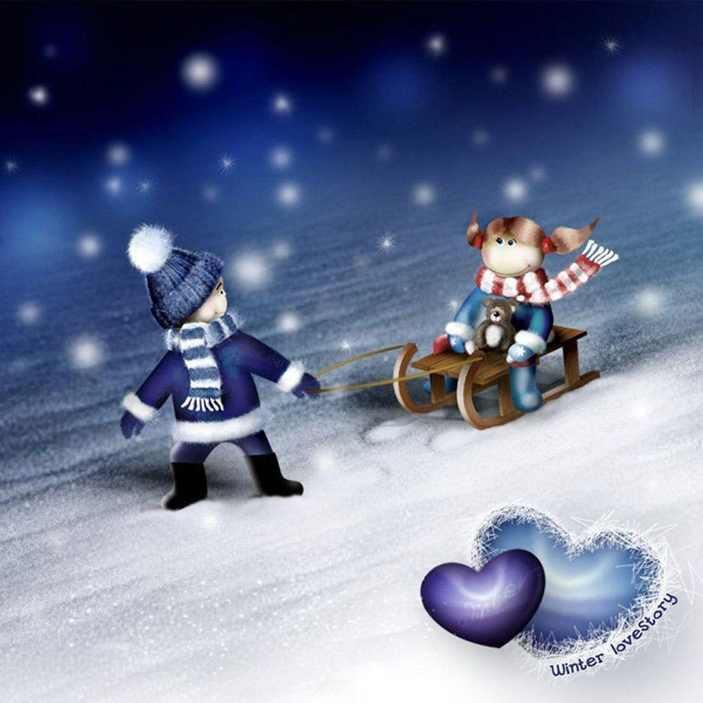 Cute Winter Wallpapers - Wallpaper Cave