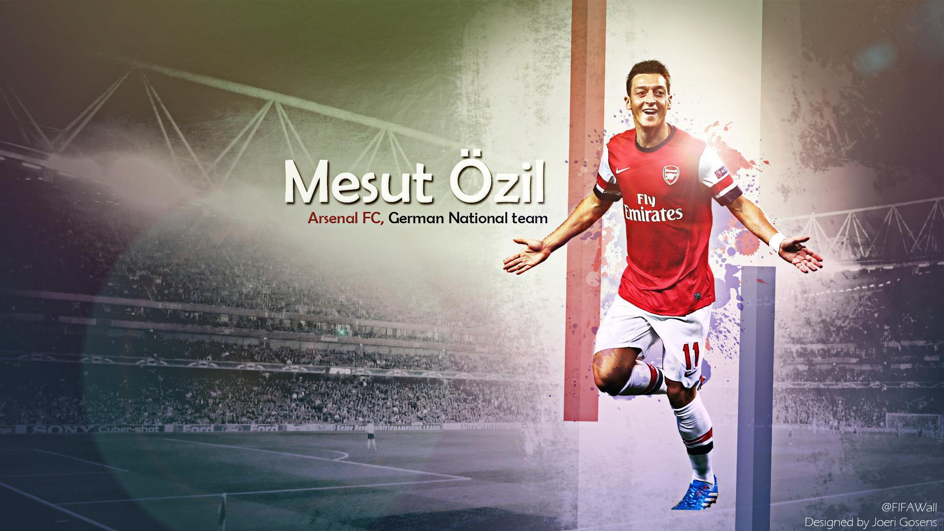 Mesut Ozil Arsenal Wallpapers HD 2014
