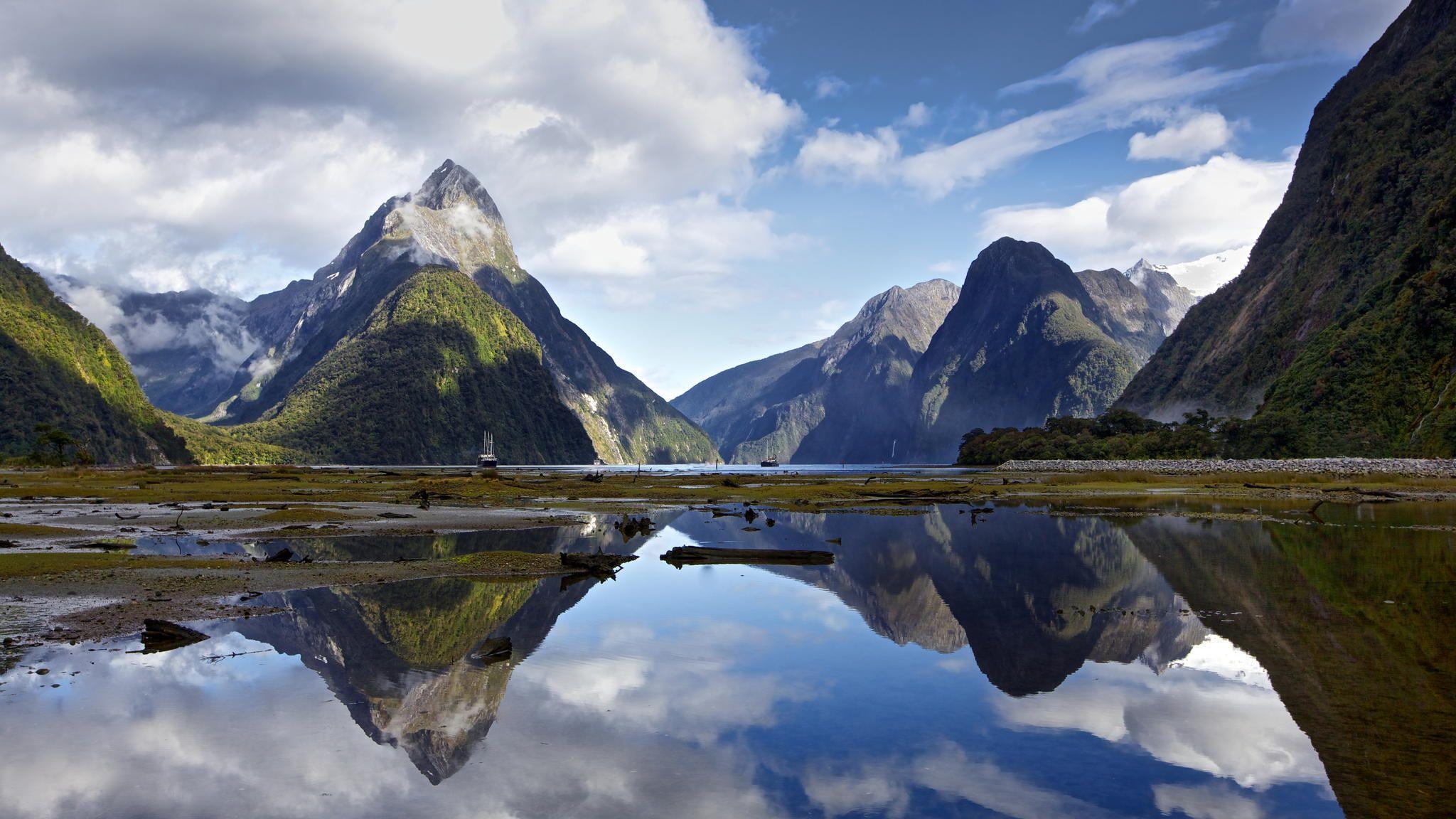 Amoklauf Neuseeland Hd: Milford Sound Wallpapers