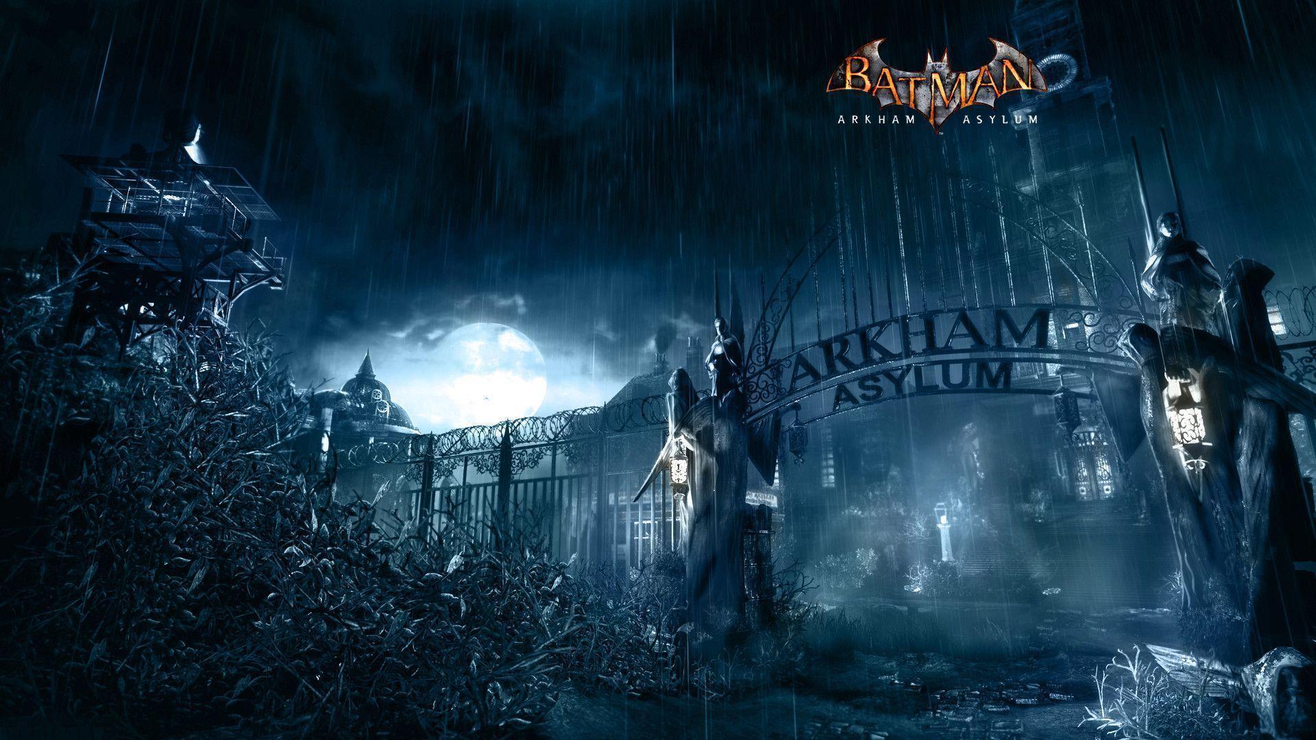 Batman Arkham Asylum Wallpapers - Wallpaper Cave