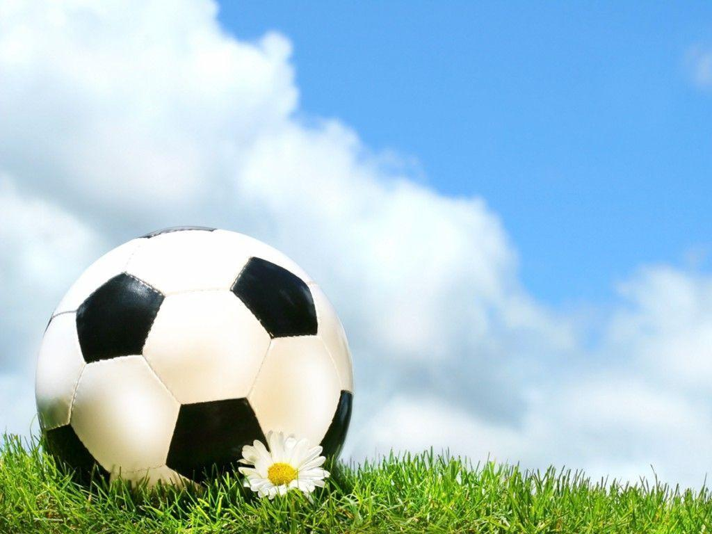 Wallpapers For > Soccer Ball Wallpapers Border
