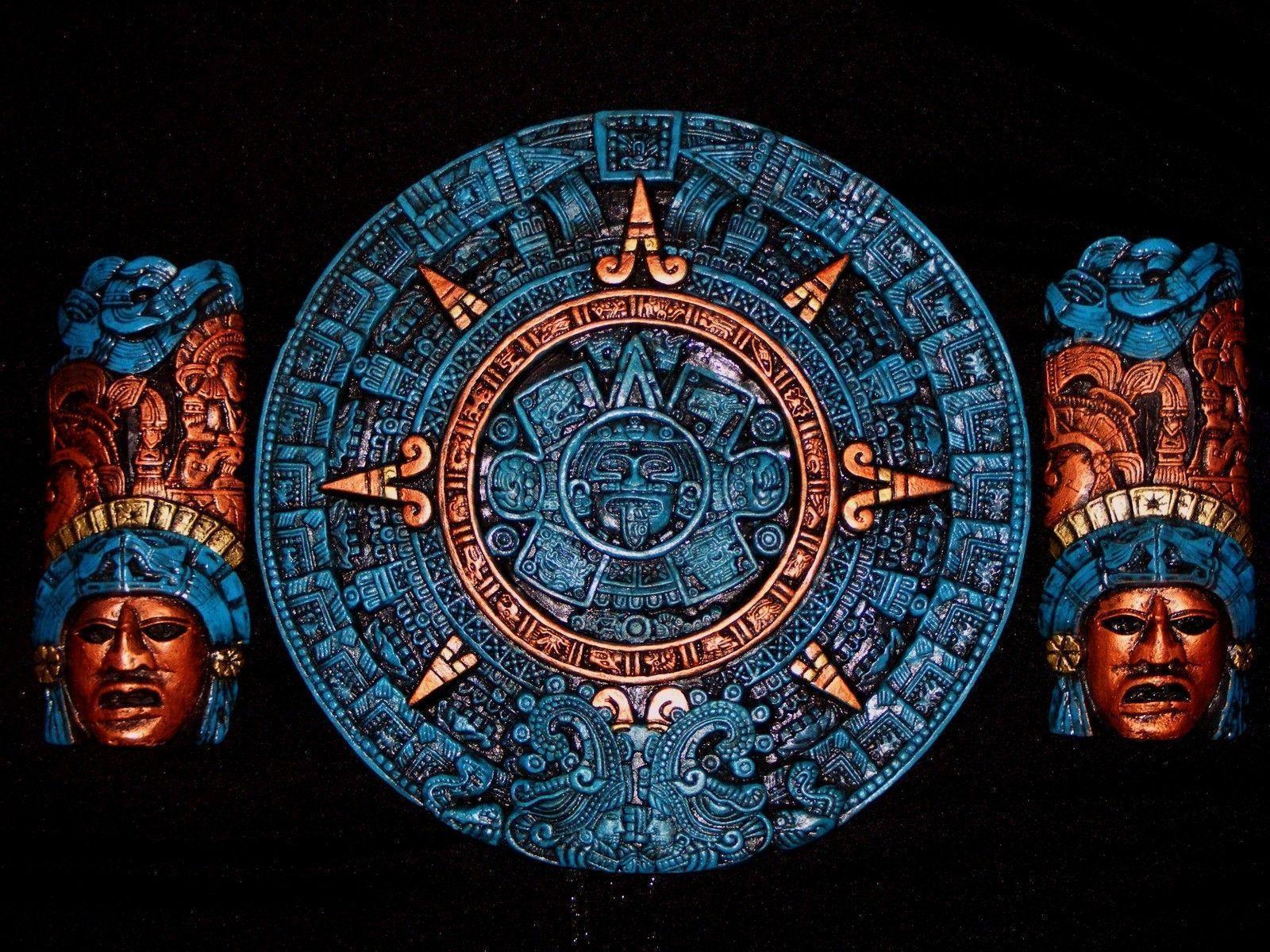 Wallpaper Of Calendar : Aztec calendar wallpapers wallpaper cave