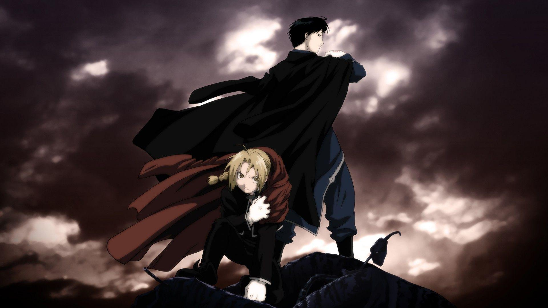 fullmetal alchemist brotherhood wallpapers wallpaper cave