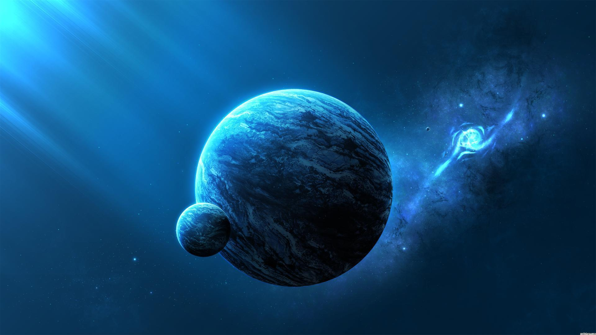 Blue Space Planet Wallpapers