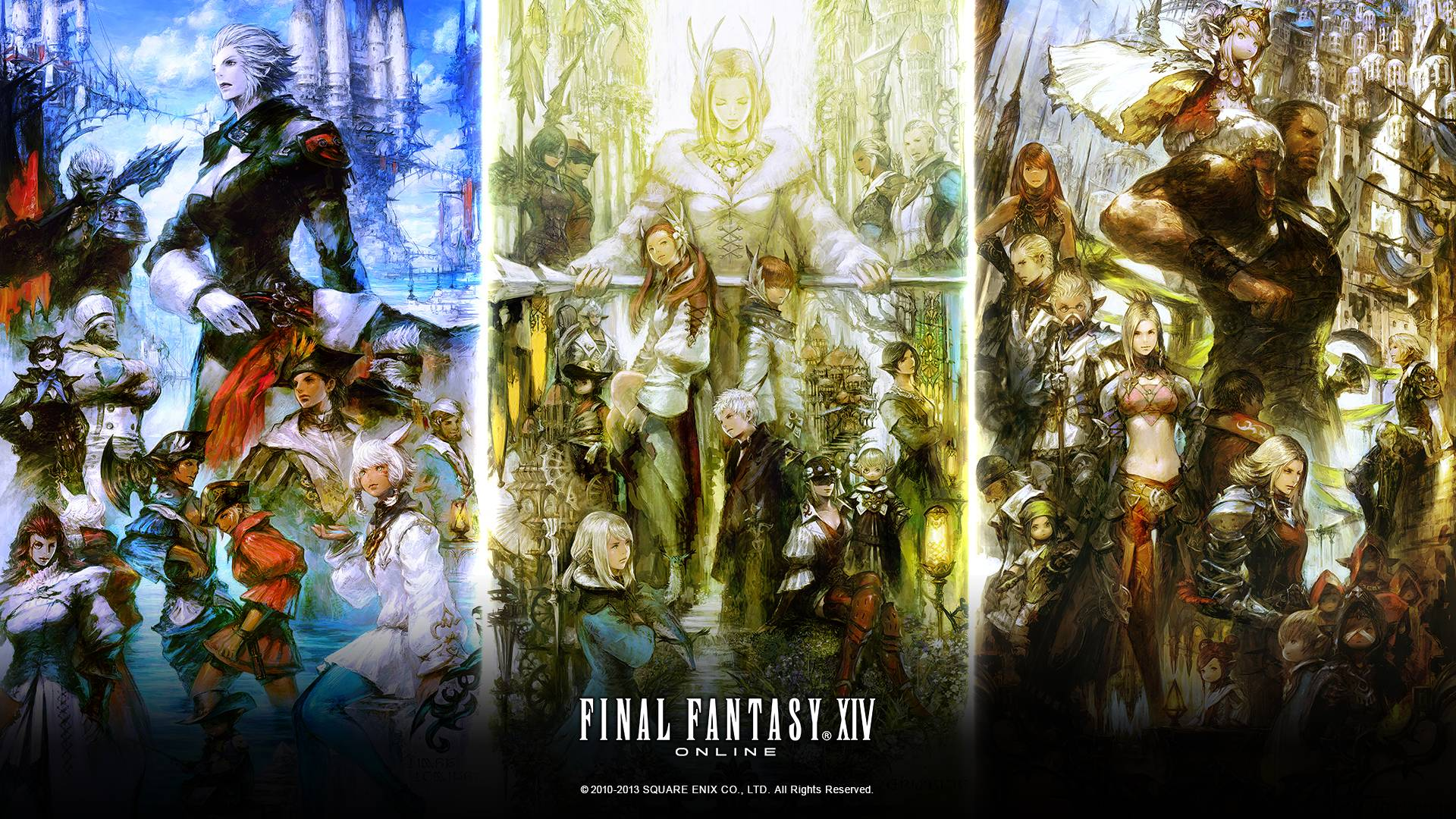 FINAL FANTASY XIV: A Realm Reborn Fan Kit