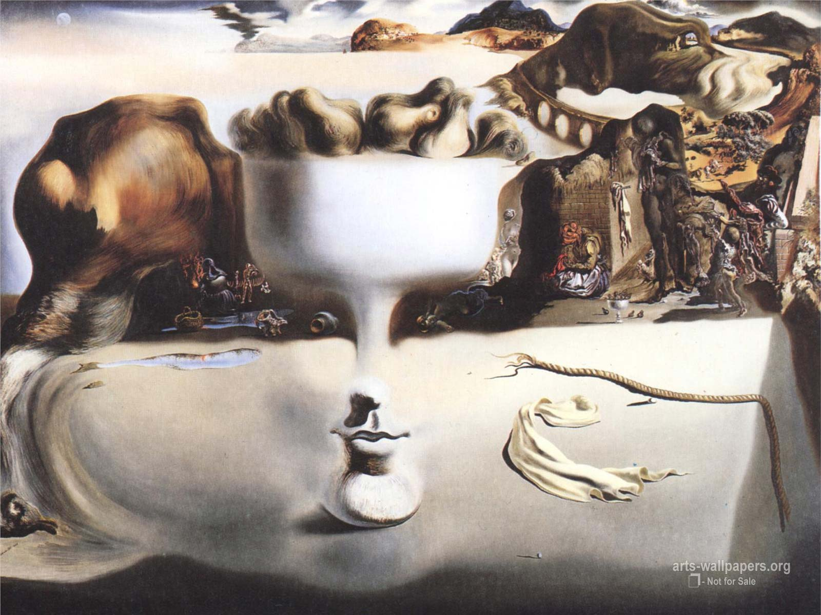 Gadgets Info Available: Salvador Dali Iphone 5 Wallpaper