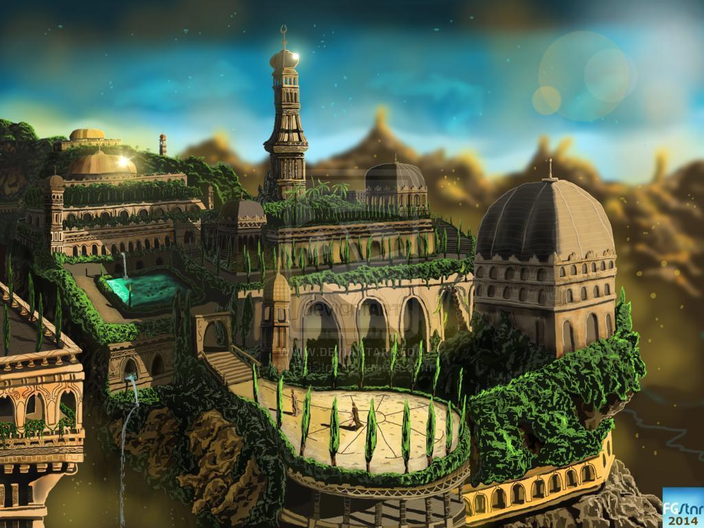 the hanging gardens of babylon According to ancient texts, the hanging gardens of babylon boasted elaborate  terraces, magnificent water features and floating plants.